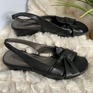 Life Stride sling back sandals
